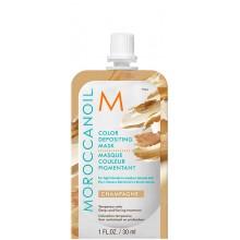 MOROCCANOIL COLOR DEPOSITING MASK CHAMPAGNE - Маска тонирующая для волос ШАМПАНСКОЕ 30мл