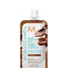 MOROCCANOIL COLOR DEPOSITING MASK COCOA - Маска тонирующая для волос КАКАО 30мл