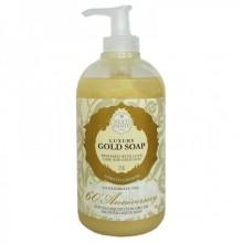 NESTI DANTE ANNIVERSARY 60th Gold Liquid Soap - Мыло Жидкое Юбилейное Золотое для Всех Типов Кожи 250мл