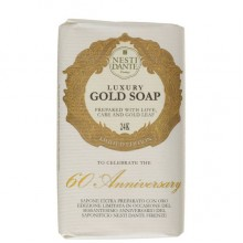 NESTI DANTE ANNIVERSARY 60th Gold Soap - Мыло Юбилейное Золотое для Всех Типов Кожи 250мл