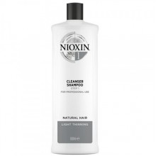 NIOXIN System 1 Cleanser - Ниоксин Очищающий Шампунь (Система 1), 1000мл