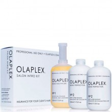 OLAPLEX Salon Into Kit: №1 Bond Multiplier, №2 Bond Perfector - Набор для салона №1 Концентрат Защита 1 х 525мл, №2 Коктейль Фиксатор 2 х 525мл