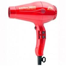 Parlux 3800 красн. ECO Friendly Ionic&Ceramic 2100W RED - Профессиональные фен для волос ЭКО КРАСНЫЙ 2100 Вт