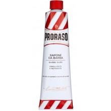 PRORASO RED SHAVING CREAM - Концентрированный крем-мыло для бритья КРАСНЫЙ 150мл