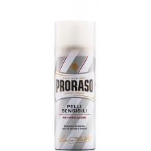 PRORASO WHITE SHAVING FOAM - Пена для бритья БЕЛАЯ 50мл