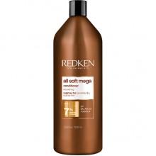 REDKEN all soft mega Conditioner - Кондиционер для питания очень сухих и ломких волос 1000мл