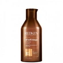 REDKEN all soft mega Shampoo - Шампунь для питания очень сухих и ломких волос 300мл