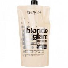 REDKEN Blonde Glam Conditioning Cream Developer 30 vol (9%) - Проявитель для осветления 9%, 1000мл