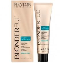 REVLON Professional BLONDERFUL 5`Soft Lightener Cream - 5-минутный осветляющий крем 50мл
