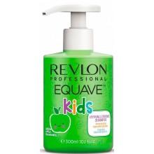 REVLON Professional EQUAVE Kids Shampoo - Шампунь для детей 2 в 1, 300мл