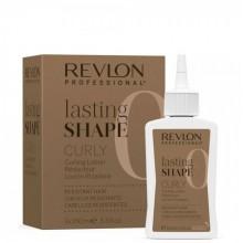 REVLON Professional lasting SHAPE Curly Lotion 0 - Лосьон для химической завивки для трудноподдающихся волос 3 х 100мл