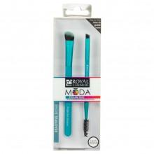 Royal&Langnickel MODA EZGLAM BEAUTIFUL BROWS - Набор кистей для макияжа бровей 2шт