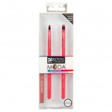 Royal&Langnickel MODA EZGLAM LUSCIOUS LIPS - Набор кистей для макияжа губ 2шт