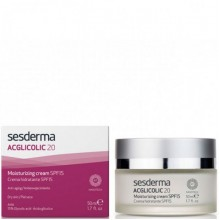 Sesderma ACGLICOLIC 20 Moisturizing cream SPF15 - Увлажняющий Крем СЗФ15, 50мл