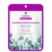 Sesderma BEAUTYTREATS Diamond powder face mask - Маска для сияния кожи 22мл