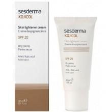 Sesderma KOJICOL Skin lightener cream SPF 20 - Депигментирующий крем СЗФ 20, 30мл