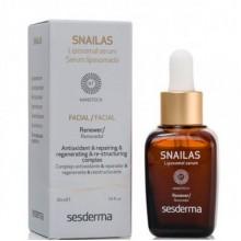 Sesderma SNAILAS Facial Renewer Serum - Сыворотка омолаживающая липосомальная с секретом улитки 30мл