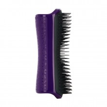 PET TEEZER De-Shedding & Dog Grooming Brush Purple & Grey - Расческа для вычесывания шерсти ФИОЛЕТОВЫЙ/ЧЁРНЫЙ 63 х 150мм