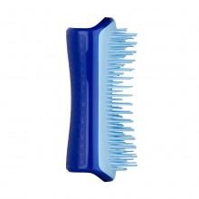 PET TEEZER SMALL De-Shedding & Dog Grooming Brush SKY BLUE - Расческа МИНИ для вычесывания шерсти СИНИЙ/ГОЛУБОЙ 50 х 120мм