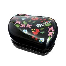 TANGLE TEEZER Compact Embroidered Floral - Щетка для волос 1шт
