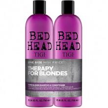 TIGI Bed Head DUMB BLONDE™ Tweens - Шампунь + Кондиционер для блондинок 2 х 750мл