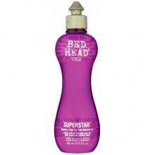 TIGI Bed Head SUPERSTAR™ Blow Dry Lotion for Thick Massive Hair - Термоактивный лосьон для придания объема волосам 250мл