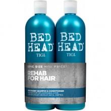 TIGI Bed Head urban anti+dotes™ RECOVERY Tweens - Шампунь + Кондиционер для поврежденных волос уровень 2, 2 х 750мл