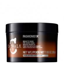 TIGI Catwalk Fashionista Mask - Тонирующая маска для темных волос 200мл