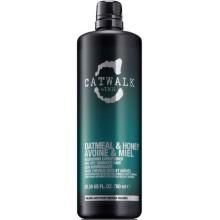 TIGI Catwalk OATMEAL & HONEY Nourishing Conditioner - Кондиционер для питания сухих и ломких волос 750мл