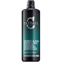TIGI Catwalk OATMEAL & HONEY Nourishing Shampoo - Шампунь для питания сухих и ломких волос 750мл