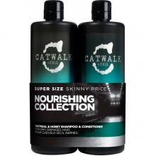 TIGI Catwalk OATMEAL & HONEY Tweens - Шампунь + Кондиционер для питания сухих и ломких волос 2 х 750мл