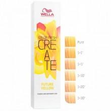 WELLA Professionals Color Fresh CREATE FUTURE YELLOW - Оттеночная краска для волос БОЛЬШЕ ЧЕМ ЖЁЛТЫЙ 60мл