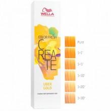 WELLA Professionals Color Fresh CREATE UBER GOLD - Оттеночная краска для волос КИБЕРЗОЛОТО 60мл