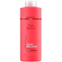 WELLA Professionals INVIGO COLOR BRILLIANCE Coarse Protection Shampoo - Шампунь для защиты цвета окрашенных ЖЁСТКИХ волос 1000мл