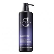 TIGI Catwalk FASHIONISTA BLONDE Shampoo - Шампунь для коррекции цвета ОСВЕТЛЁННЫХ волос 750мл